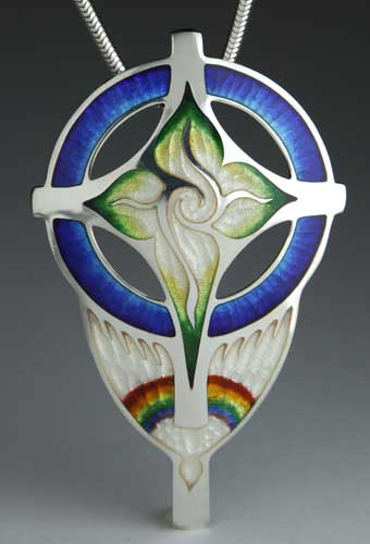 Creation with Rainbow Dove