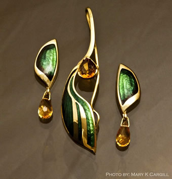 earring-pendant-set